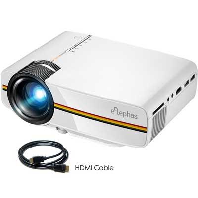 ELEPHAS 1800 Luminous Efficiency LED Movie Projector