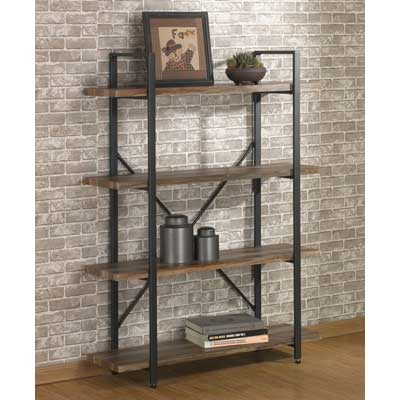 O&K Furniture 4-Tier Bookcases and Book Shelves