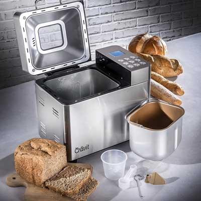 ALL New Cravit DV-1000-NIC Gluten Free Bread Machine