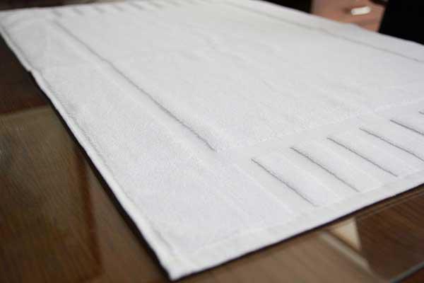 Luxury Hotel and Spa 100% Cotton Washable Bath Mats
