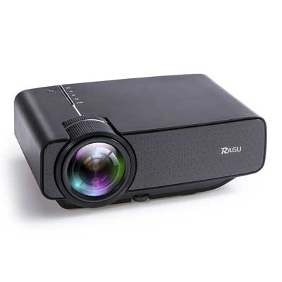 RAGU Z400 1600 Lumens Mini Portable Projector