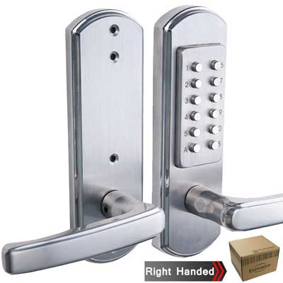 Elemake Right Handed Keyless Entry Lock Door Keypad Mechanical Security