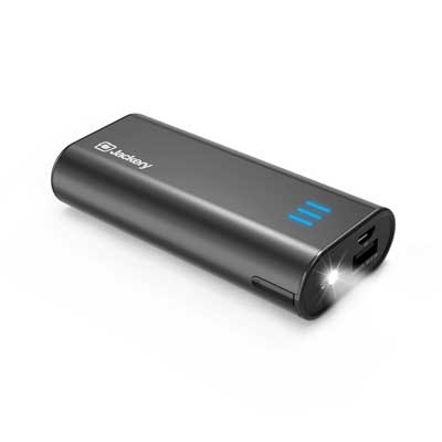 Portable Charger Jackery Bar 6000mAh Pocket Size External Charger