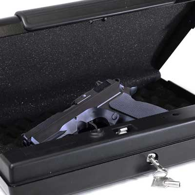 First Alert 5200DF Portable Handgun or Pistol Safe