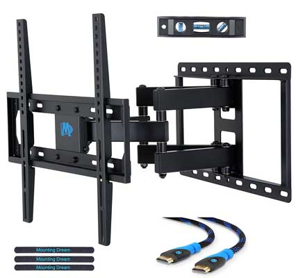 top 10 best tv wall mounts in 2018 reviews