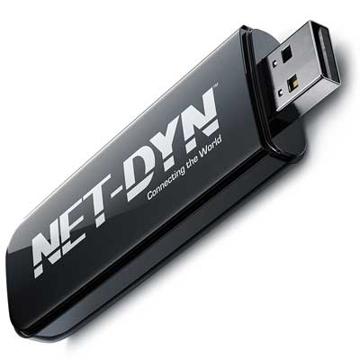 NET-DYN Dual Band USB Wireless Wi-Fi Adapter, AC600