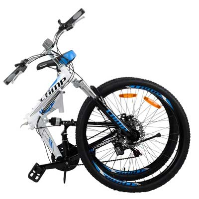 "Camp Alloy 26"" Folding Bike"