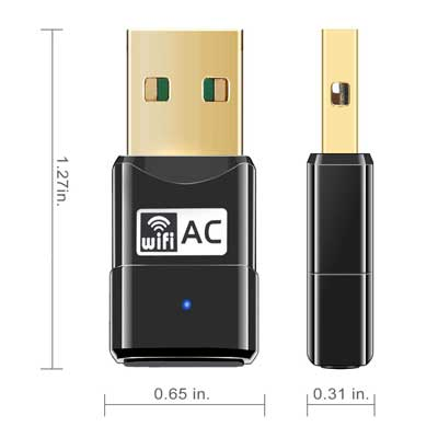Mailiya AC600Mbps Wireless Adapter
