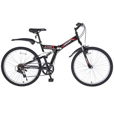 "GTM 26"" 7 Speed Folding Mountain Bike"