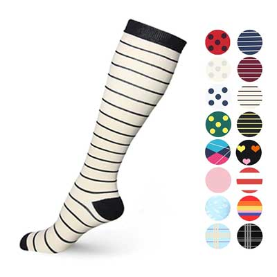Graduated Compression socks for women and men by Mum's Memory