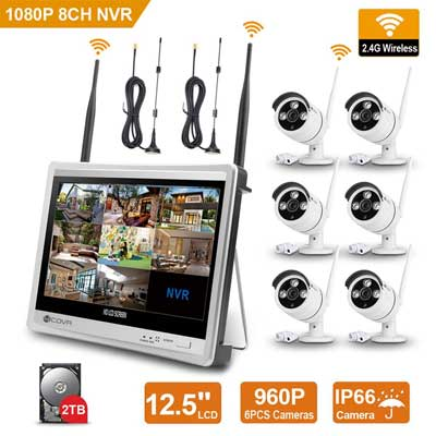 Forcovr 8 Channel 1080P Home Security System CCTV
