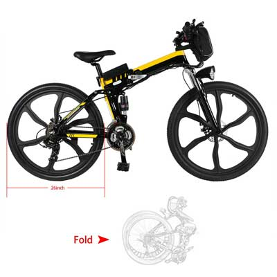 Sheepfun Electric Folding Mountain Bike