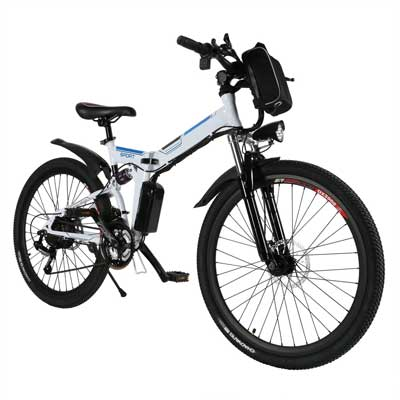 Oanon Folding Electric Mountain Bike
