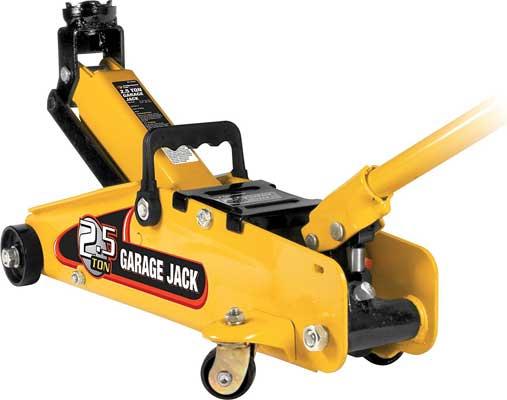 Performance Tool W1640 2.5-Ton Capacity Jack Floor, Jack