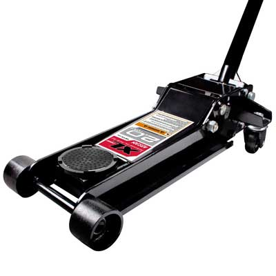Arcan XL20 Black Low Profile Steel Service Jack-2 ton capacity