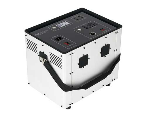 Portable Solar-Ready Generator for Camping, Hunting, RV, Off Grid, Humless