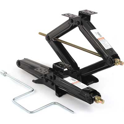 2 Heavy Duty Stabilizer Scissor jacks with handle lift Levelers