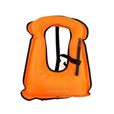 Auto-Vox Adult Inflatable Snorkel Vest, Imax