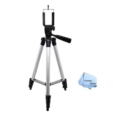 50-inch Camera Tripod for all Smartphones by FrenzyDeals