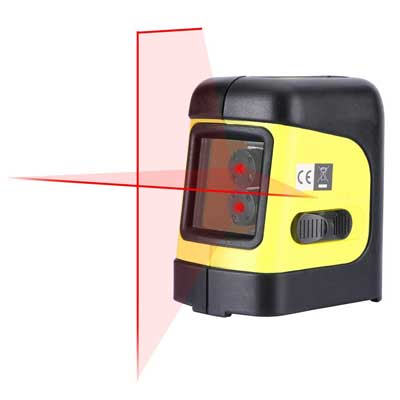 Firecore self-leveling horizontal/vertical cross-line laser level