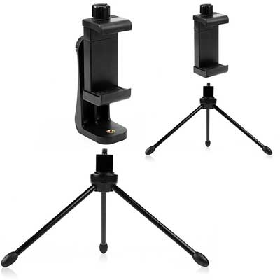 Vaster Universal Smartphone Tripod Adapter Cell phone Holder Mount
