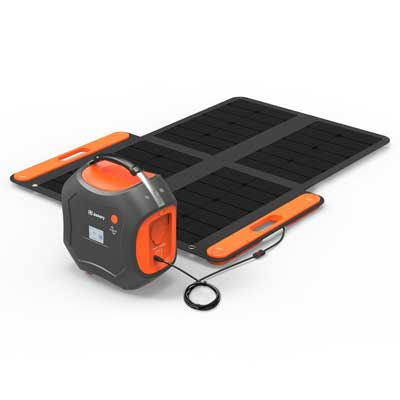 The Jackery 500 Lithium Solar Generator