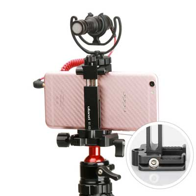 Ulanzi ST-03 Metal Smart Phone Tripod Mount