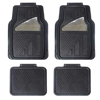 Maggift Rubber Floor Mats, for cars, SUVs Vans & Trucks