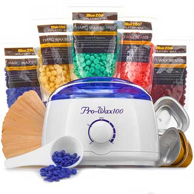 Wax Warmer (Heater) hair Removal Kit