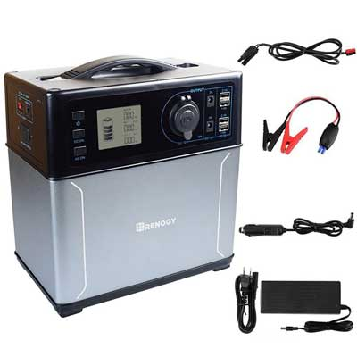 Renogy Rugged Power Pack –Multifunctional Portable Solar Generator