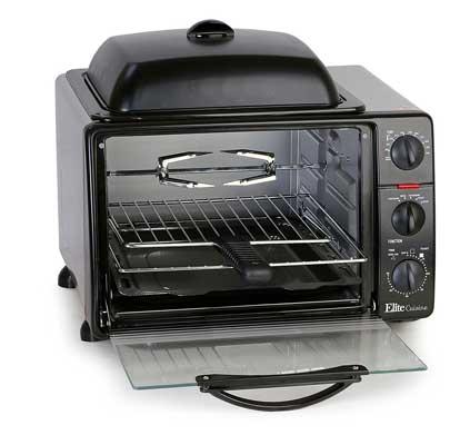 Maxi Matic ERO-2008S Elite Cuisine 6-Cuisine Toaster Oven