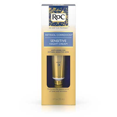 Roc Retinol Correxion Anti-Aging Sensitive Skin Night Cream