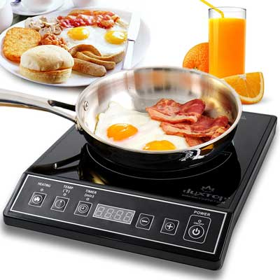 Secure 9100MC 1800W Portable Induction Cooktop