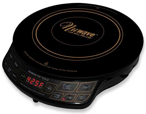 NuWave PIC Gold 1500W Portable Induction Cooktop