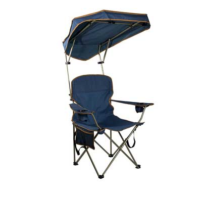 Quick Shade MAX Shade Camp Chair-Navy