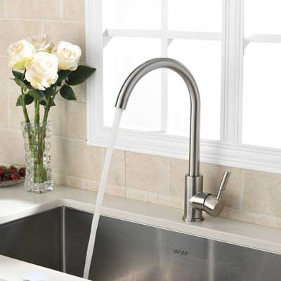 VAPSINT 360 Degrees Swivel Good Kitchen Sink Faucet