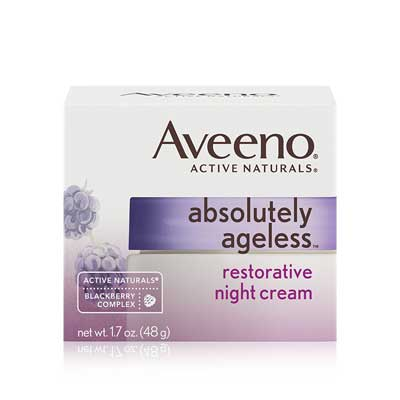 Aveeno Absolutely Ageless Restorative Facial Anti-Aging Night Cream
