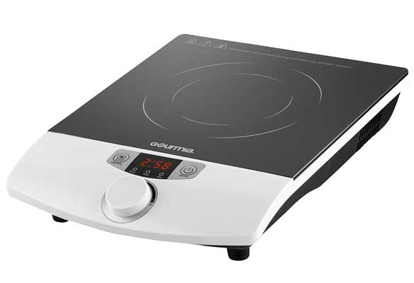 Gourmia GIC-100 Multifunction Portable 1800W Induction Cooker Cooktop