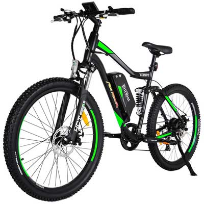 Addmotor HITHOT Electric Bicycles Mountain 27.5-inch Tire Full Suspension Electric Bikes