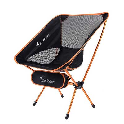 Sportneer Portable Lightweight Folding Hiking Picnic Camping Chair and Table
