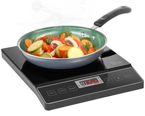 Chef's Star 1800W Portable Induction Cooktop