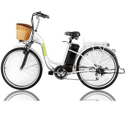 Nakto 26-inch 250W Cargo-Electric Bicycle 6 Speed e-Bike