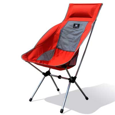 Moon Lence Compact Ultralight Portable Folding Camping Chair