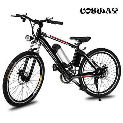 Speed Electric Mountain Bicycle with 26-inch Fat Tire