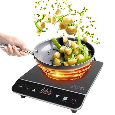 Cosmo 1800-watt Portable Induction Cooktop
