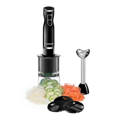 Chefman Immersion Blender and Electric Spiralizer