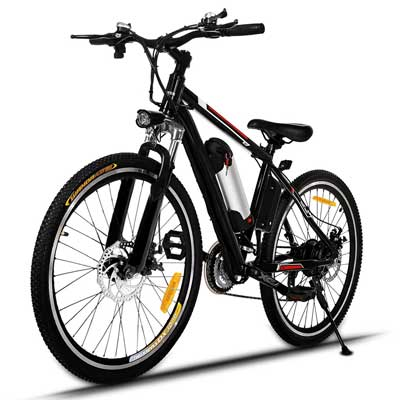 Tomasar Power Electric Bike with removable Lithium-Ion Battery