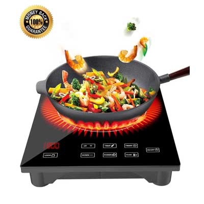TOBOX 1800W Portable Induction Cooktop