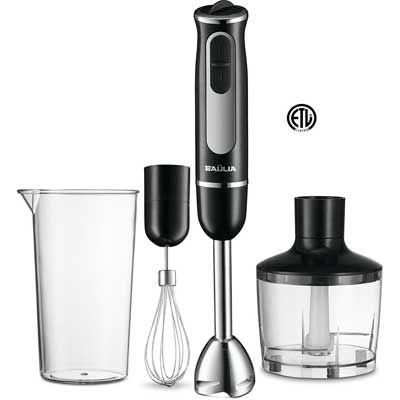 All-in-One Immersion Hand Blender Set, Baulia