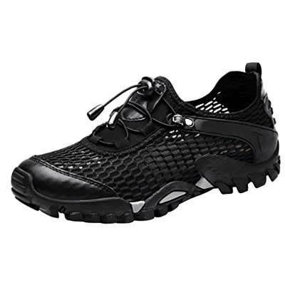 LOUECHY Men's Ponrea Mesh Hiking Shoes